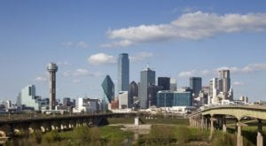 Dallas On A Summer Day