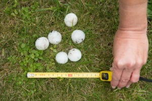 Damaging Hail Storms