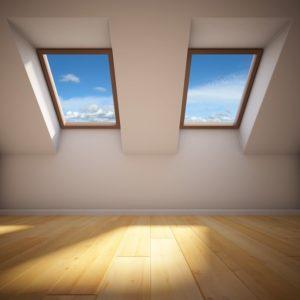 Roofing Contractors Install Skylights