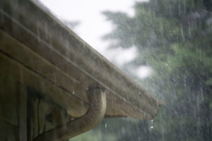 hire roofing company for roof leak from heavy rain
